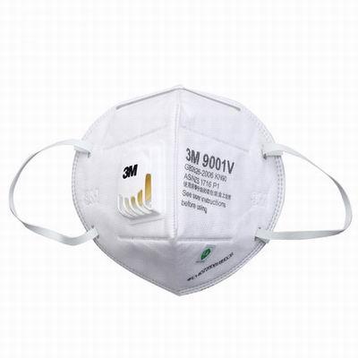 【帶呼吸閥顆粒物防護口罩-環保裝-KN90-6個/組】防花粉防塵霧霾PM2.5勞保口罩-586039