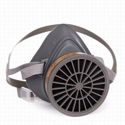 【3600防毒面具/3700防塵面具-兩款可選-1款/組】活性碳防塵防毒噴漆化工焊接防護口面罩具-586039