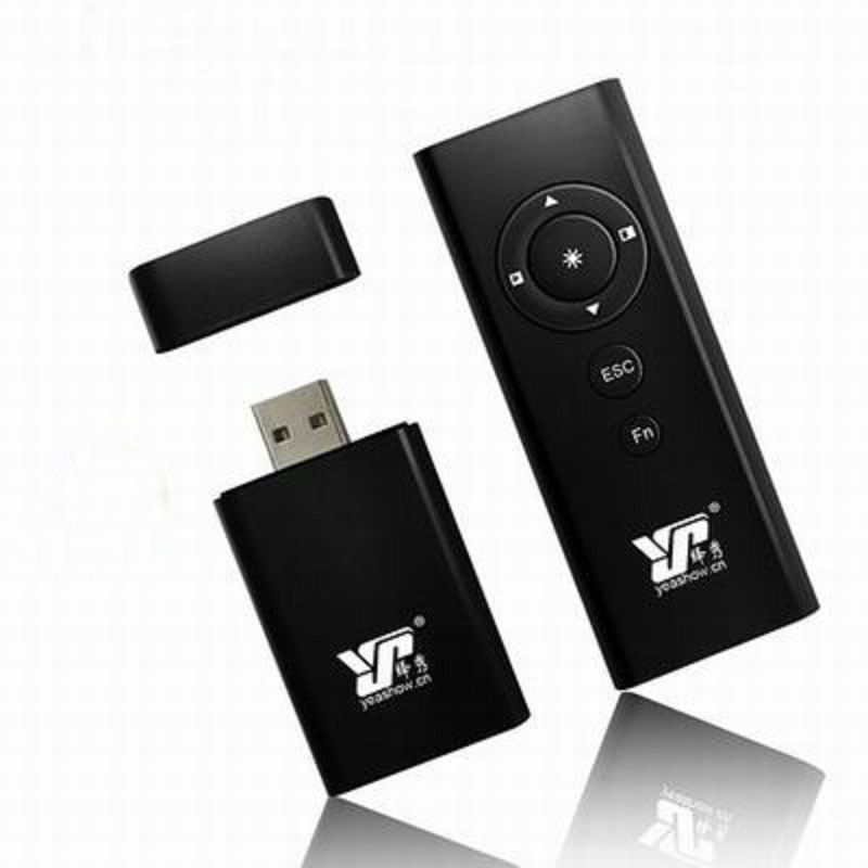 【PPT遙控筆-YS092-紅光-遙15/光200米-1款/組】翻頁電子教鞭無線投影演示筆超連結(無電池)-586060