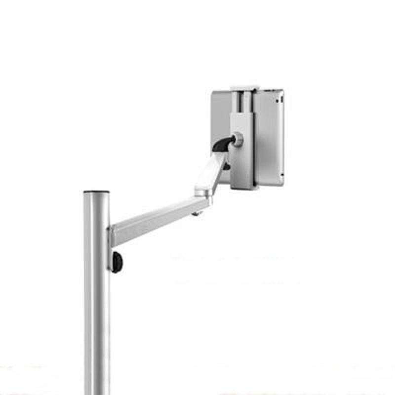 【手機平板落地支架-雙節臂-鋁合金-1套/組】床頭懶人落地視頻支架平板電腦手機通用-586063