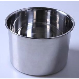 16CM直身打蛋盆 不銹鋼 調料缸盅 攪拌盆 味盅 烘焙工具-7201005