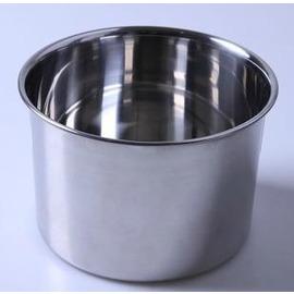18CM直身打蛋盆 不銹鋼 調料缸盅 攪拌盆 味盅 烘焙工具-7201005