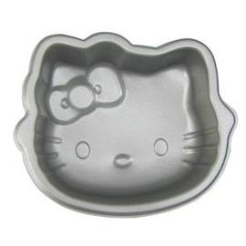 H636 kitty貓頭 烘焙蛋糕模具 烤箱用 蛋糕用具 布丁模具果凍模具-7201005