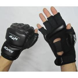 高檔跆拳道護手套護腳套 訓練半指手套 跆拳道專用護具-7801002