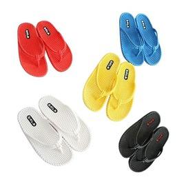 簡約純色 塑膠人字拖 沙灘拖 涼拖鞋 夾腳拖 女拖-7601001