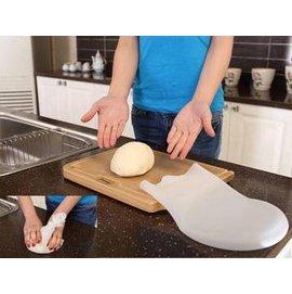 【多功能矽膠揉面袋-1kg】 和麵 保鮮 冷藏 烘培 醃制 多功能廚房工具(直徑長約32cm  能裝1kg乾麵粉,1.5L)-8001001