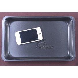 【不粘烤盤-鐵制-A6深長方盤】烘焙工具 蛋糕模具 烤箱用 做蛋糕的工具(烤盤30.5*18.5*3.5cm)-8001001
