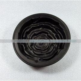 【蛋糕模-矽膠-玫瑰花-11-2個/組】 玫瑰花蛋糕模具 烘焙工具微波爐烤箱用(外徑13.5內徑11cm高度3.5cm),2個/組(可混選)-8001003