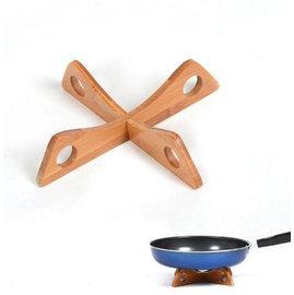 【鍋墊-楠竹-炭化-十字交叉-3個/組】廚房簡易鍋墊 可拆裝鍋架 放鍋具架 置物架 鍋架杯墊(20*20*4.5cm) 3個/組(可混選)-8001010