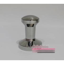 【不銹鋼壓粉器-不銹鋼一體成型-底徑5.75*高8cm-1個/組】實心304不銹鋼一體成型壓粉錘 填壓器 壓棒 -7501007