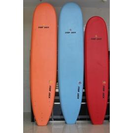 【沖浪板-8尺-243*53*8.5cm-1套/組】XPE+EPS+PP 軟板 沖浪板 滑水板 趴板 船板 站板 surfboard (產品重且超長,須走海運)-56010