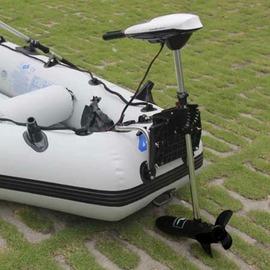 【電動推進器-T54-前五後二檔-推力24.5kg-1套/組】2-5人船推進器橡皮艇電動馬達電瓶推力漁船 蓄電瓶推進器(不含電池、充電器)-76033