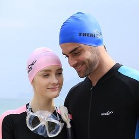【防水潛水帽-均碼-2個/組】游泳帽 浮潛帽 游泳訓練裝備 環保安全輕便-76003