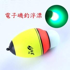 【電子磯釣浮漂-三規格可任選-3個/組】使用40-50小時左右 浮球 海釣浮漂 EVA磯釣漂 雙光源(不含電池)-76016