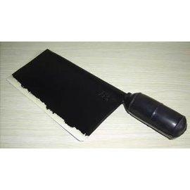 【模擬塑膠菜刀-刀柄硬膠-刀體軟膠-長27cm-1支/組】模擬菜刀 塑膠材質 無傷害性 用於短兵武術-56045