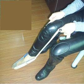 【穿襪輔助器-藍色尼龍+厚絨布-1套/組】生活輔助器具 腰腿不便老人穿襪器 家庭護理用品-56043
