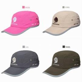 【休閒防曬棒球帽-帶反光條款-均碼-1頂/組】戶外速乾透氣防紫外線帶反光條鴨舌帽 快乾速乾帽 棒球帽-76012