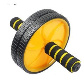【雙輪健腹輪-標準套餐-1套/組】滾輪 腹肌輪 雙輪健腹器 練臂肌,標準套餐 : 標準飛輪骨架健腹輪一個+1cm海綿膝蓋墊-56001