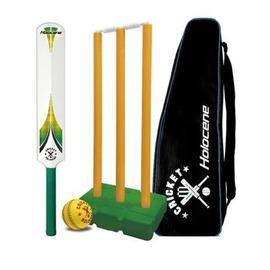 【板球組套裝-HC-S02-練習比賽用-1套/組】 一套 : 球拍(長79cm)*1、板球*1、板球門一組(門柱三根、橫木二個、底座一個)裝備包*1 -56005