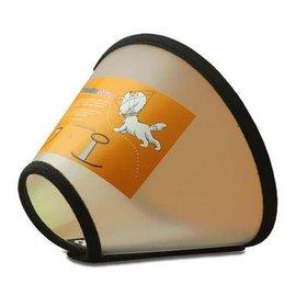 【寵物脖套-伊莉莎白防咬圈-軟塑膠-4號-頸圍28-31cm】狗狗項圈 貓脖圈狗脖套防抓舔咬小狗大型犬-79013