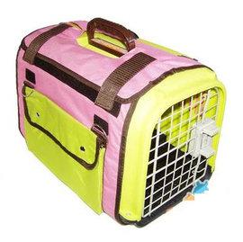 【航空箱-B-412528】兔子龍貓天竺鼠 高級外帶包 手提籠 旅行袋 航空籠(B=單籠+2.5kg木粒)-79023
