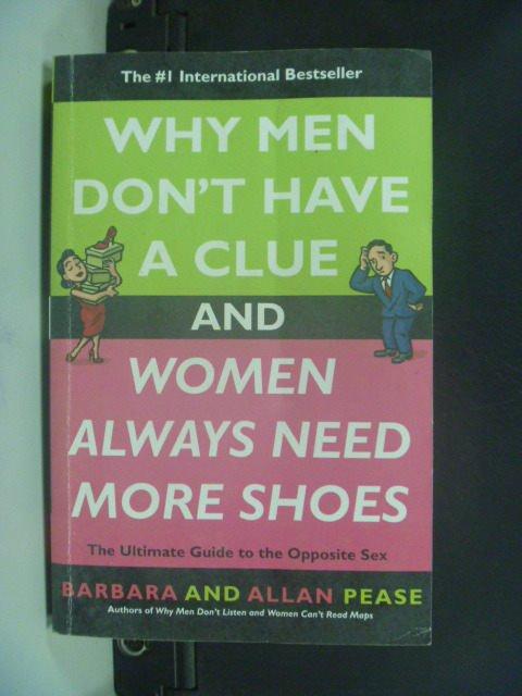 【書寶二手書T9/兩性關係_JHR】Why Men Don't Have a Clue and Women…