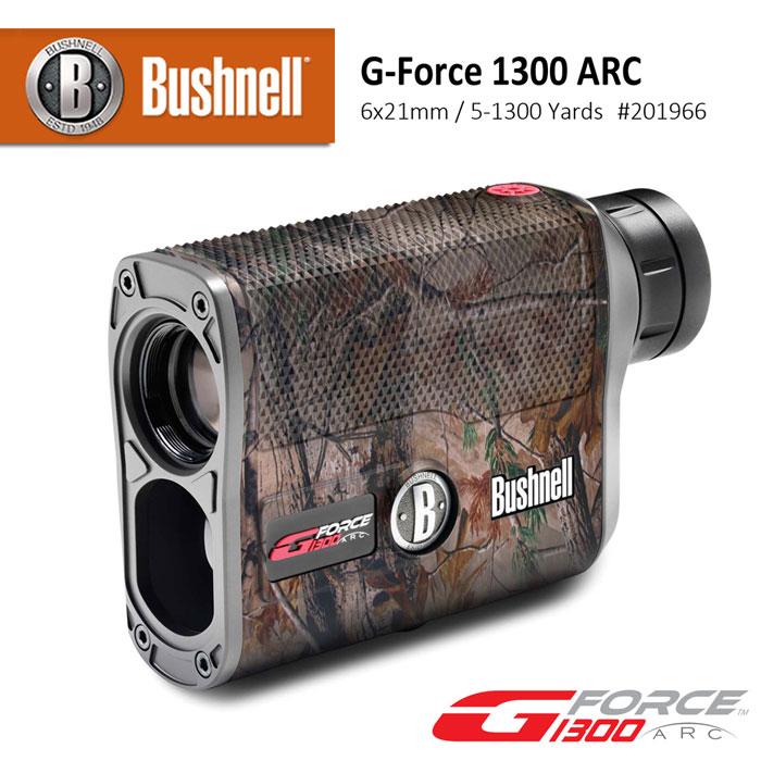 【美國 Bushnell 倍視能】G-Force 1300 ARC Camo 6x21mm 雷射測距望遠鏡 #201966 (公司貨)