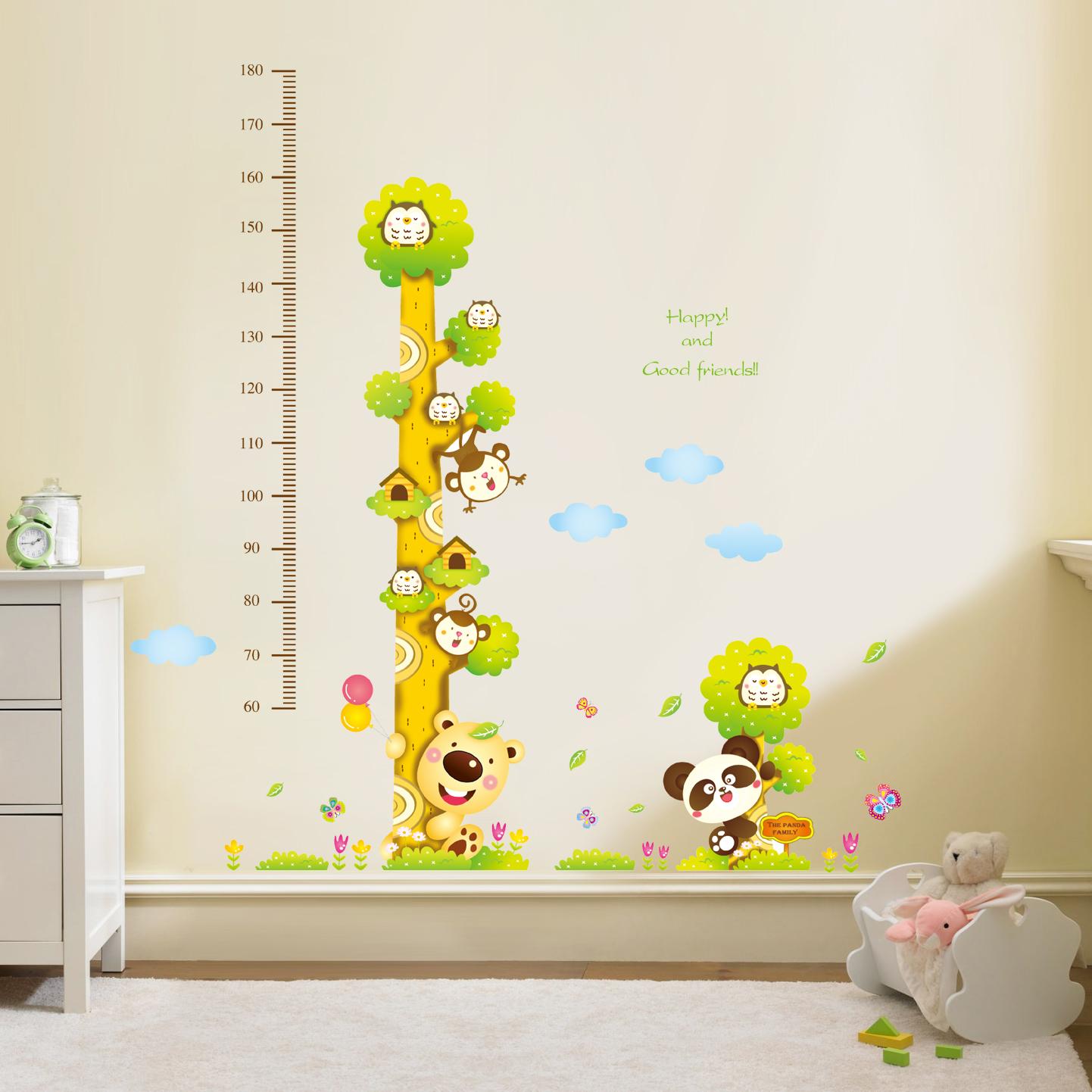 Decor.H 樹袋熊 兒童身高尺 無痕設計壁貼 不傷牆面 展覽 布置 創意 DIY 裝潢 裝飾