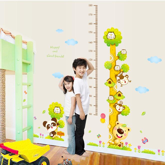 樹袋熊 身高量尺 大尺寸無痕設計壁貼 不傷牆面 展覽 布置 創意 DIY 裝潢 兒童房裝飾