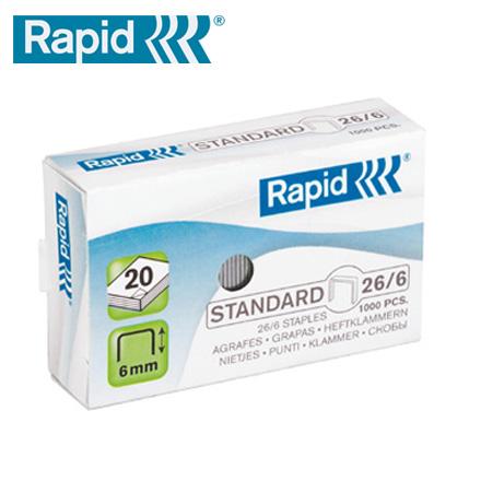 RAPID 瑞典 26/6 訂書針 / 盒