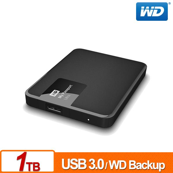 ★綠G能★全新★行動硬碟★WD My Passport Ultra 1TB(經典黑) USB 3.0 2.5吋行動硬碟 請先詢問貨源