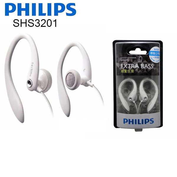 PHILIPS 飛利浦 SHS3201 運動型耳掛式耳機 ,公司貨保固