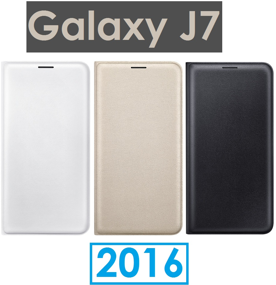 【原廠盒裝】三星 Samsung Galaxy J7 (2016 年新版)原廠翻頁式皮套 側翻側掀 保護套