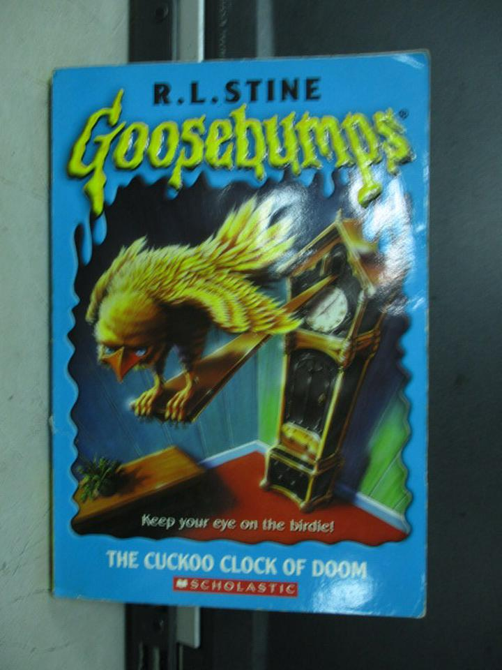 【書寶二手書T2/原文小說_KDJ】The cuckoo clock of doom_R.L.STINE