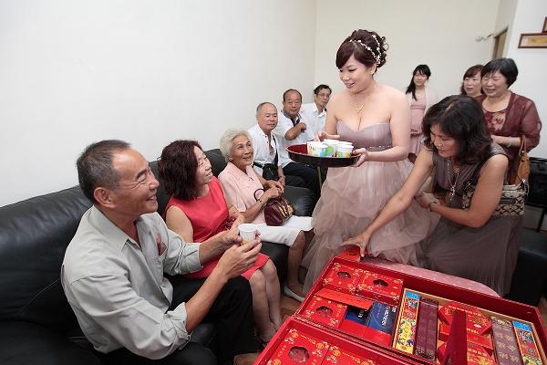 喝茶禮的習俗~(訂婚、結婚)~新人必看....此賣場為新人必讀百科非賣場~請勿下單