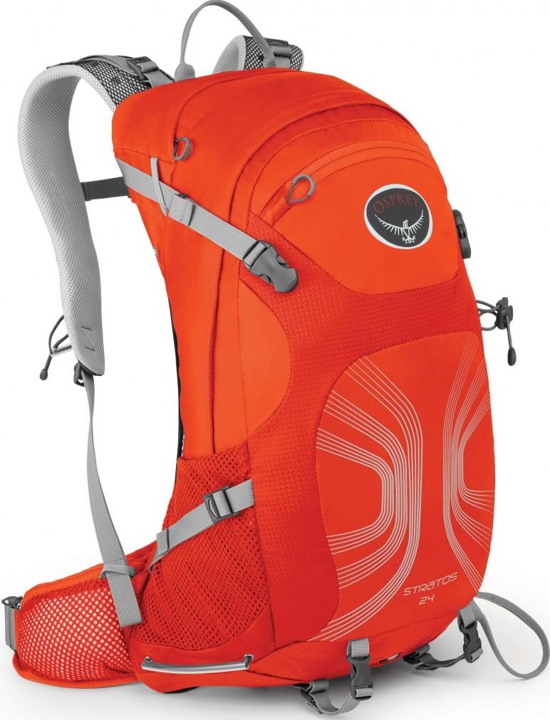 [ Osprey ] Stratos 24 登山背包/郊山背包 男款 透氣網架 橘/台北山水