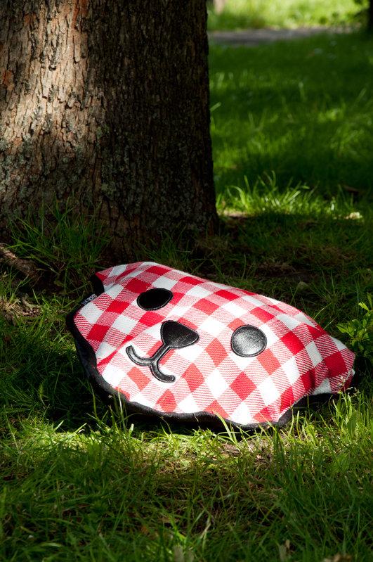 超可愛野餐墊【現貨熱賣中】--英國suck UK 格子熊野餐墊