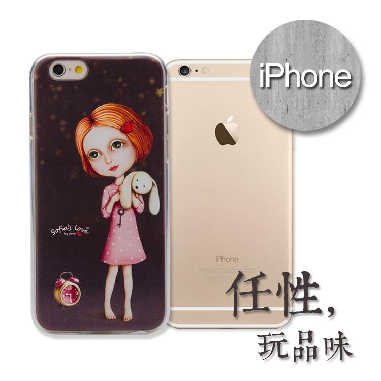 【5S特價】iPhone 浮雕手機殼.sofia's系列(晚安)
