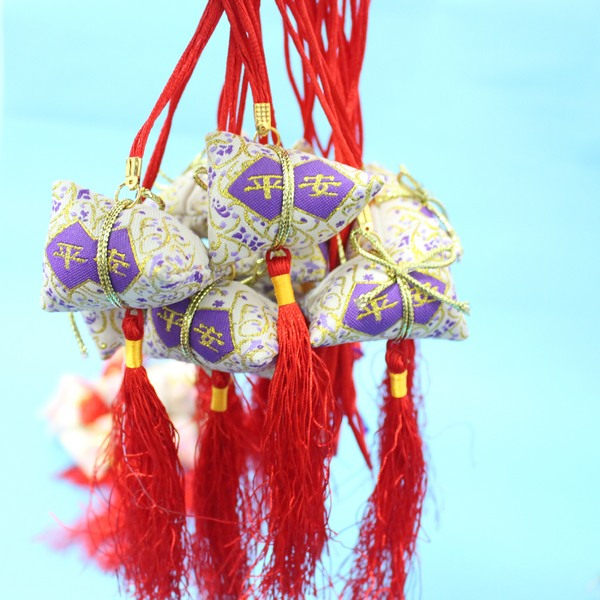 平安香包 項鍊式手工粽子香包 端午節香包(成品)/一個入{促30}~4762~