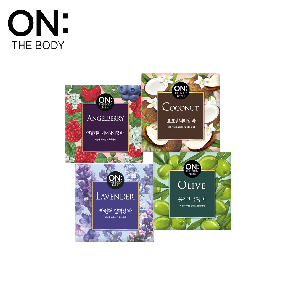 【ON THE BODY】Natural系列香皂 90g-四款任選
