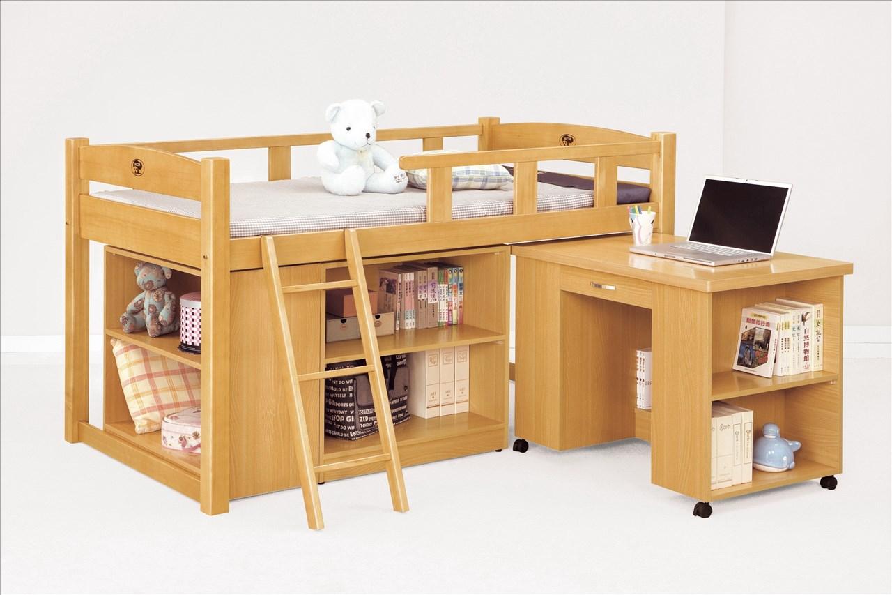 【石川家居】CM-213-7 貝莎3.8尺檜木多功能組合床組(全組) (不含其他商品) 需搭配車趟