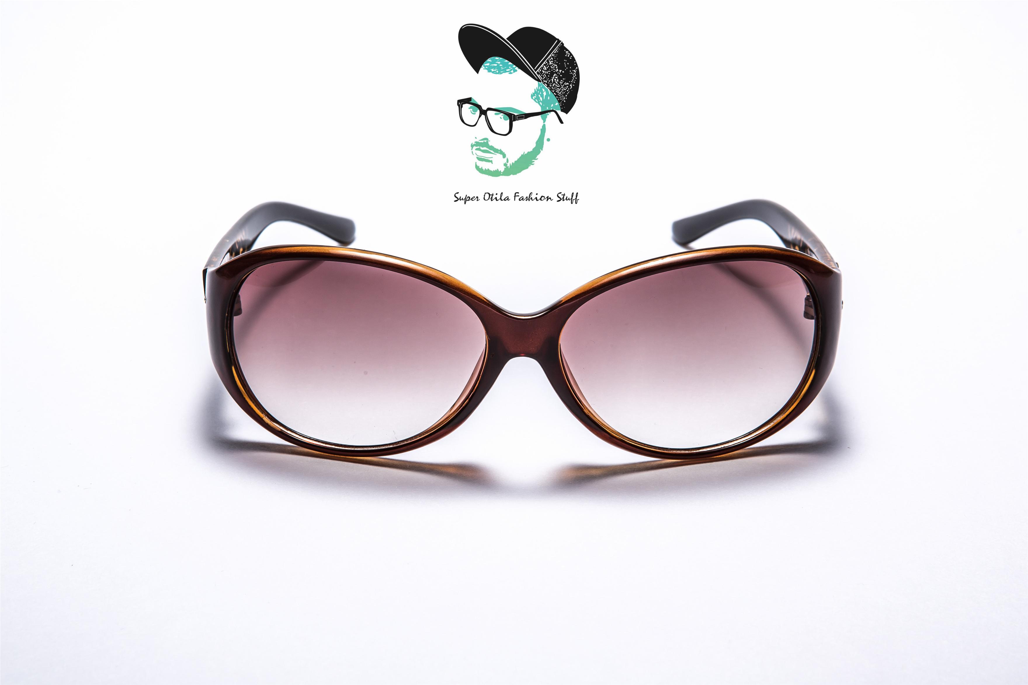 太陽眼鏡 墨鏡 眼鏡  韓國 super otila 【624】繽紛綻放花朵-茶玳瑁