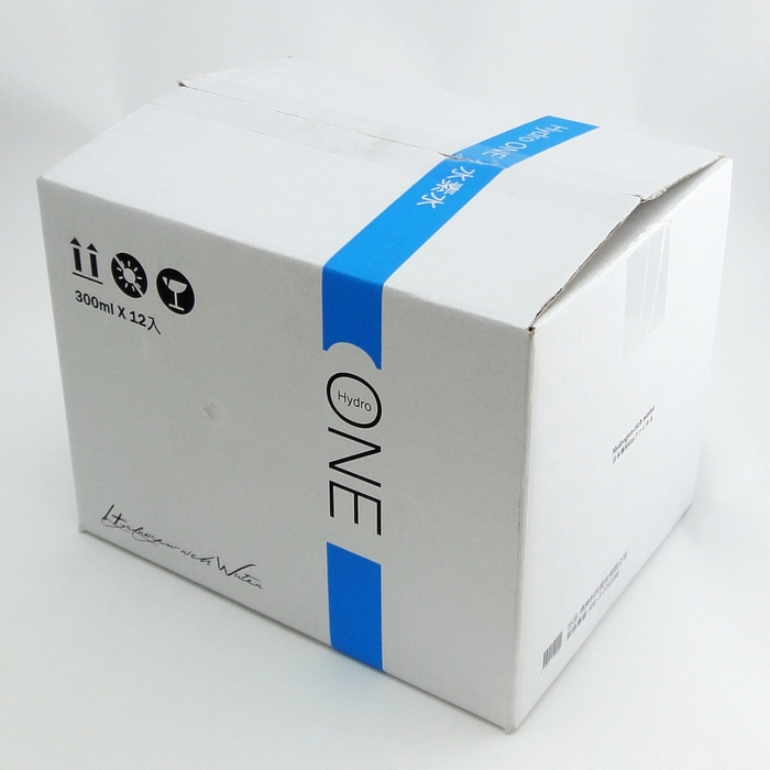 【UNIPRO】【免運費】Hydro One 水素水 氫水 瓶裝300ml (12入/一箱) 抗氧化 中性水 幫助體內環保、促進新陳代謝,身體保健