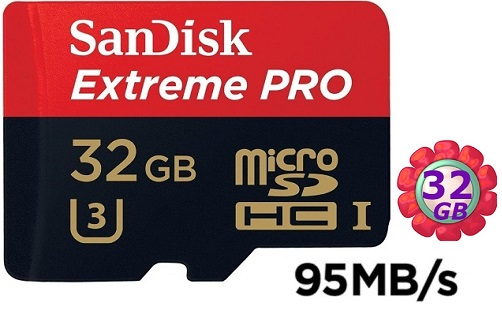 SanDisk 32GB 32G microSDHC【95MB/s】Extreme Pro 633X microSD micro SD SDHC UHS UHS-I 4K U3 Class 3 C10 Class 10 原廠包裝 記憶卡 手機記憶卡