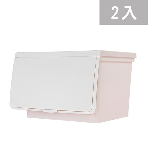大象平方-繽紛系列直取式收納箱-CM3-005二入(38L)