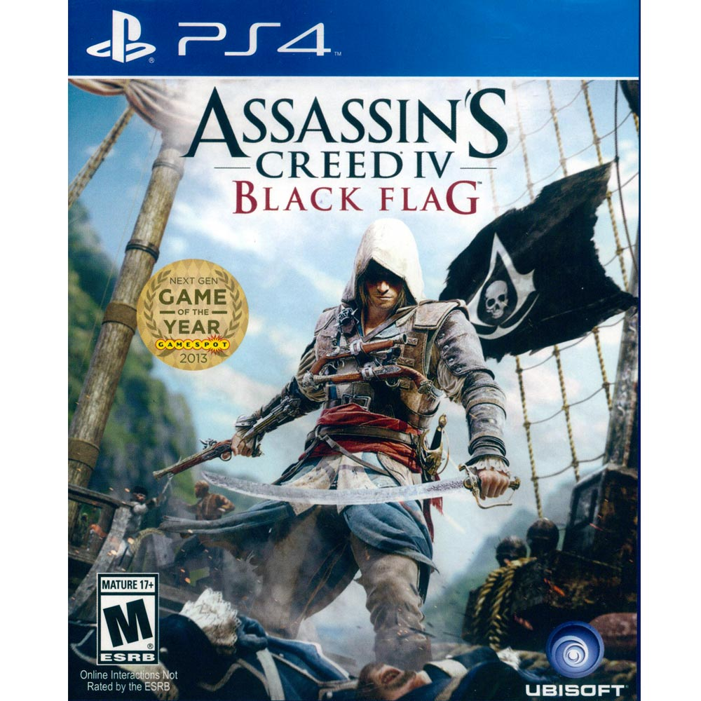PS4 刺客教條 4:黑旗 英文美版 Assassin's Creed 4: Black Flag
