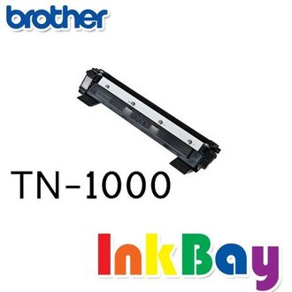 BROTHER TN-1000 / TN1000 相容黑色碳粉匣/適用機型:BROTHER HL-1110/DCP-1510/MFC-1815 /MFC-1910W(一組4支)