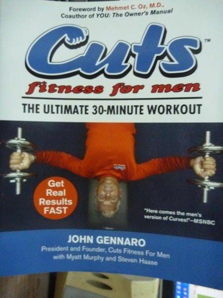 【書寶二手書T2/體育_PNM】Cuts Fitness for Men_John Gennaro