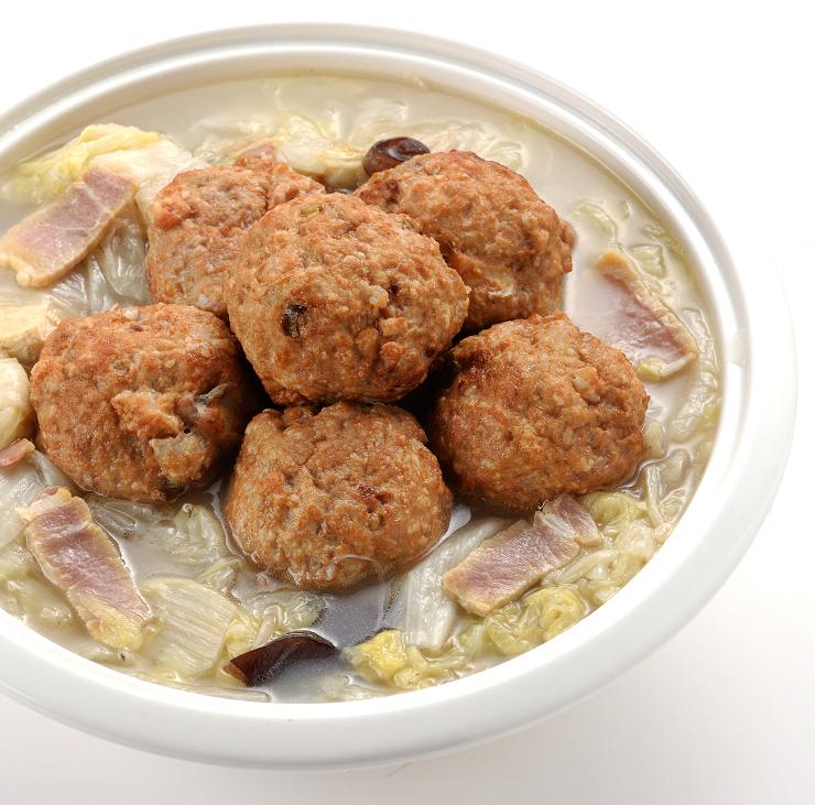 【十味觀】白湯獅子頭2,100g/盒