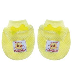 【蜜妮寶貝嬰童用品館】暖絨手套 / 藍色、黃色、粉紅